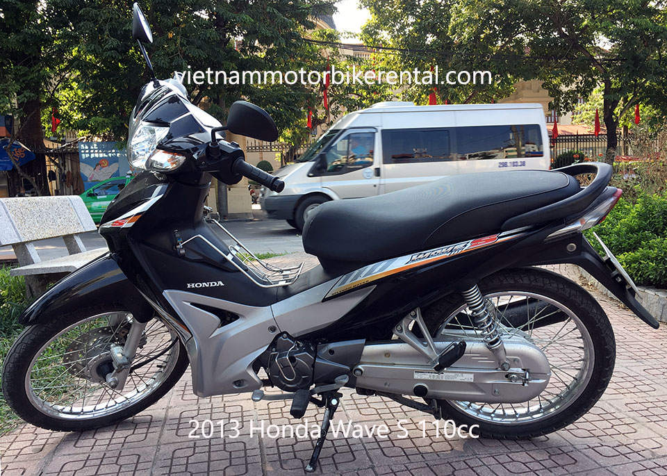 2013 Honda Wave S110 used touring motorbikes for sale in Hanoi.