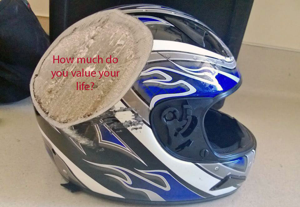 Vietnam Motorbike Hanoi Rental - Safety Motorbike Riding Gear. Good crash helmet is a must and we don't provide cheap stuff!