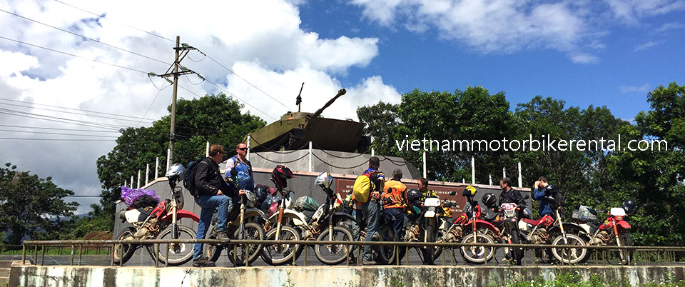 Historical Ho Chi Minh Trail/Road guided motorbike tours on two wheels