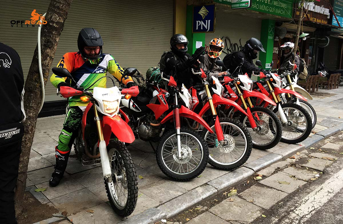 Vietnam Motorbike Hanoi Rental - Buying Vs Renting Motorbikes In Vietnam. Sport touring and off-road motorbike for rent in Hanoi, Vietnam