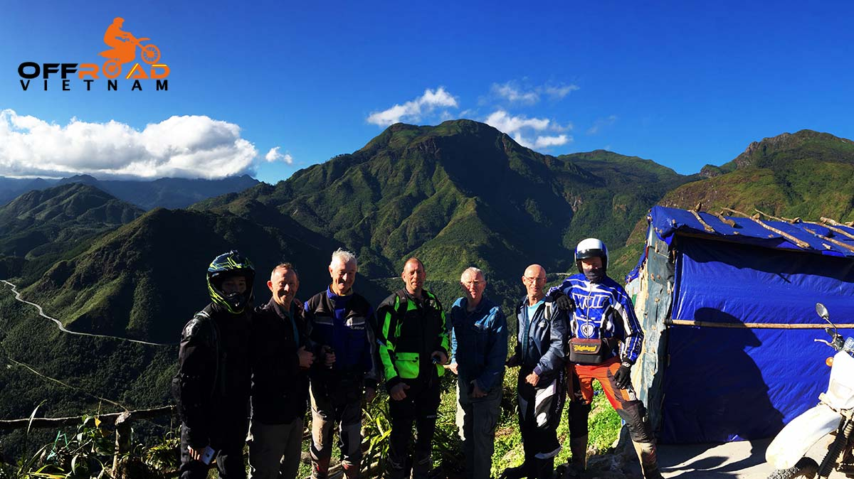 North-Centre Roof Roads To Sapa of Northern Vietnam guided motorbike tours