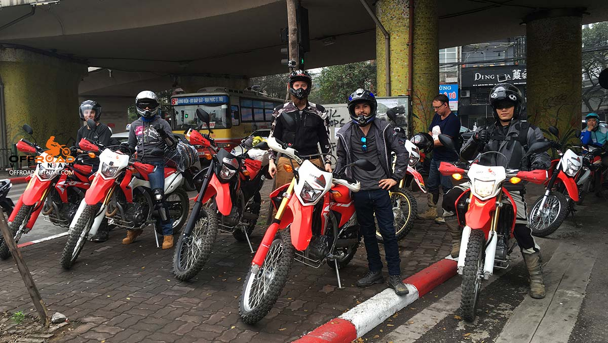 Vietnam Motorbike Hanoi Rental - Off-road dual enduro Honda CRF250L for tours and rentals in Hanoi.