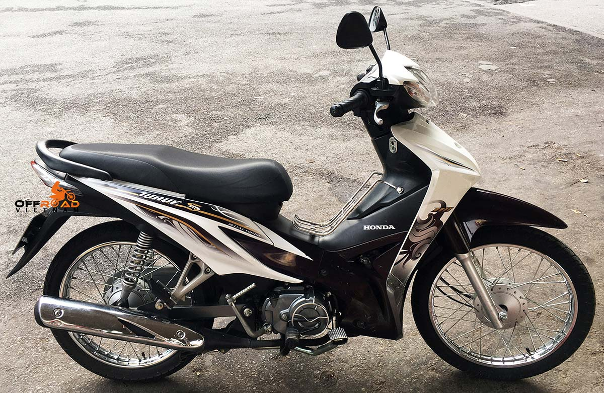 2014 Honda Wave S 110cc used scooter for sale in Hanoi.