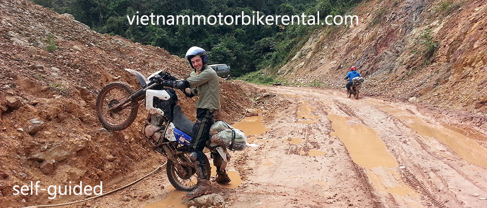 Vietnam Motorbike Hanoi Rental - Guided Vs Self-Guided For Your Vietnam Motorbike Tours. This is self-guided.