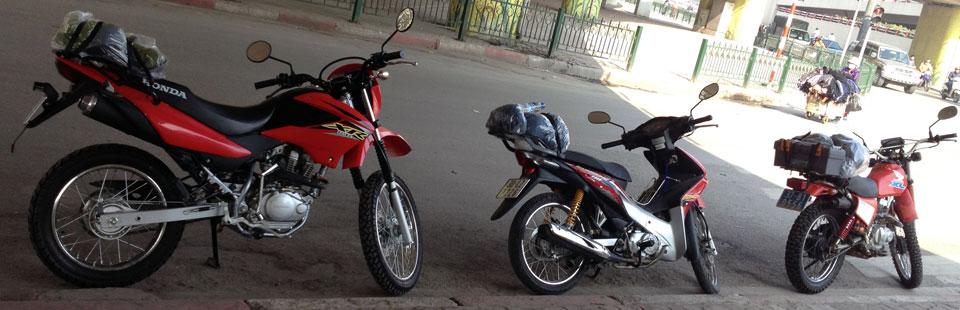 Vietnam Motorbike Hanoi Rental - Things To Bring On A Vietnam Motorbike Tour. Vietnam Motorbike Rental advices on what to bring for your Vietnam motorbike tour