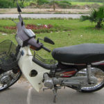 Honda Super Dream 100cc. The next series of the legendary Honda Dream, discontinued in 2007.