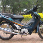 Honda Future 110cc. The first model of Future series, discontinued in 2011.
