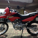 Honda XR125L, latest model of 125cc dirt bike from Honda.