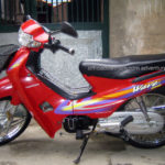 Honda Wave 100cc. The second model of Wave series, discontinued in 2009.
