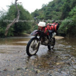 Honda XR250 off-roading