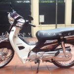 Honda Super Dream 110cc 2014. The current model of Honda Dream for rent in Hanoi.