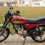 Honda CGL125. The latest model of GL series.